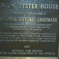 Photo taken at Union Oyster House by Gary K. on 8/22/2011