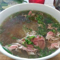 Photo taken at Pho Que Huong by John on 9/11/2012