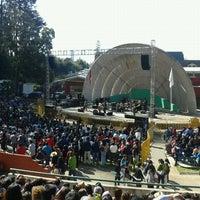 Photo taken at Anfiteatro San Pedro de la Paz by Omar C. on 9/19/2011