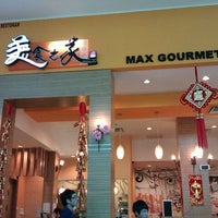 Photo taken at Max Gourmet 美食之家 by Frances C. on 1/25/2012