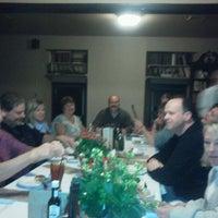 Photo taken at Schlesinger's Steak House by Kristin L. on 12/4/2011
