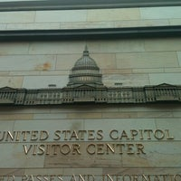 Photo taken at United States Capitol Visitors Center by Rachael R. on 10/11/2011