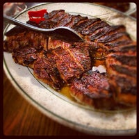 Photo taken at Peter Luger Steak House by Brent B. on 4/18/2012