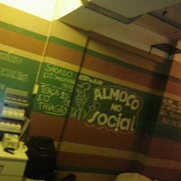 Photo taken at Social Bar e Restaurante by Ismael C. on 1/10/2012