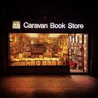 Photo taken at Caravan Bookstore by Mario V. on 6/5/2012