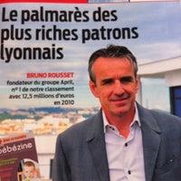 Photo taken at Tribune De Lyon by Vero L. on 9/15/2011
