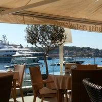 Photo taken at Adriana, hvar spa hotel by Matt B. on 7/28/2012