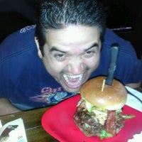 Photo taken at G Burger by Rob S. on 10/10/2011