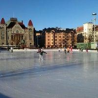 Photo taken at Rautatientori by Herkko V. on 3/14/2012