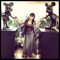 Photo taken at Disneyland Hotel by Jasmine W. on 8/17/2012