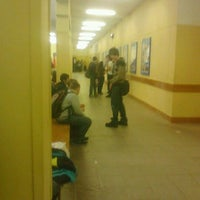 Photo taken at Школа №8 by Sonya S. on 3/1/2012