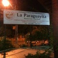 Photo taken at La Paraguayita Restaurant Parrillada by Juan S. on 4/6/2012