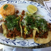 Photo taken at Frida Mexican Restaurant by Oksana G. on 8/17/2012