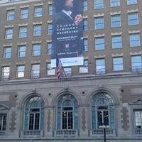 Photo taken at Symphony Center (Chicago Symphony Orchestra) by Kimberly G. on 9/9/2012