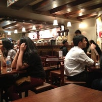 Photo taken at Max Brenner Chocolate Bar by Lauren T. on 4/17/2012