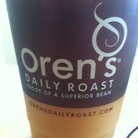 Photo taken at Oren's Daily Roast by Sean L. on 3/15/2012