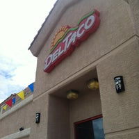Photo taken at Del Taco by John on 8/17/2012