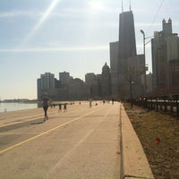 Photo taken at Chicago Lakefront Trail by Kerri T. on 3/13/2012
