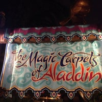 Photo taken at The Magic Carpets of Aladdin by robert b. on 4/2/2012