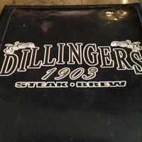 Photo taken at Dillingers 1903 Steak & Brew by Dan Mycol T. on 9/2/2012