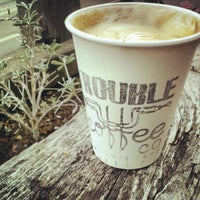 Photo taken at Trouble Coffee by Brien W. on 9/1/2012