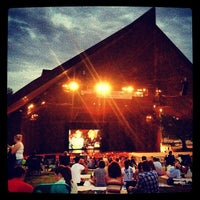 Photo taken at Miller Outdoor Theatre by Lorenzo M. on 8/22/2012
