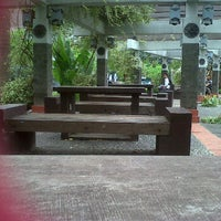 Photo taken at Gazebo Fakultas Teknologi Pertanian UB by Maulida A. on 2/21/2012