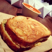Photo taken at Morris Grilled Cheese Truck by alba on 5/9/2012