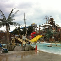 Photo taken at Zoombezi Bay Waterpark by Heather D. on 8/19/2012