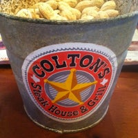 Photo taken at Coltons Steakhouse by Alex D. on 7/11/2012