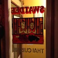Photo taken at Swatdee Thai Cuisine by David H. on 4/10/2012