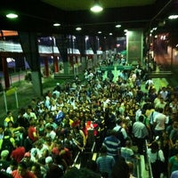 Photo taken at Estação Santo Amaro (CPTM) by Aline Nepomuceno on 3/5/2012