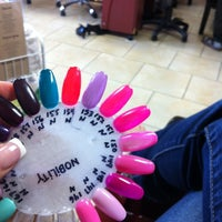 Photo taken at Luxe Nail Salon by Lisa W. on 4/27/2012