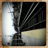 Photo taken at LIRR - Nassau Blvd Station by Catalina L. on 12/7/2011