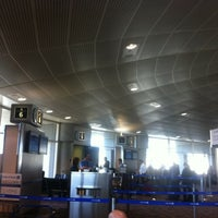 Photo taken at Gate A5 by Stephen C. on 12/6/2011