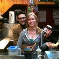 Photo taken at Creperie NYC by Gabriel S. on 12/24/2011