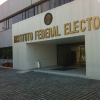 Photo taken at Instituto Federal Electoral by Miguel O. on 4/10/2012