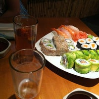 Photo taken at Sushi House by Daniela R. on 3/4/2012
