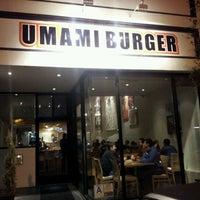 Photo taken at Umami Burger by woo surk j. on 1/16/2012