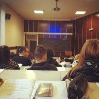 Photo taken at Università degli Studi di Macerata by Andie ∞ on 4/2/2012