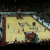 Photo taken at Cassell Coliseum by Winston H. on 2/4/2012