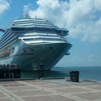 Photo taken at Carnival Freedom by Christian B. on 10/8/2011