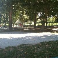 Photo taken at Area Cani Parco Ponte Sesto by Wanda B. on 7/29/2011