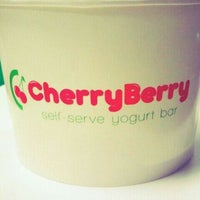 Photo taken at CherryBerry Yogurt Bar by Mandy P. on 1/9/2012