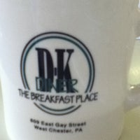 Photo taken at DK Diner by Mike B. on 4/17/2011
