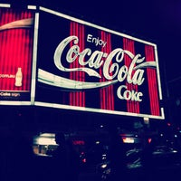 Photo taken at The Coca-Cola Billboard by Tyler W. on 10/15/2011