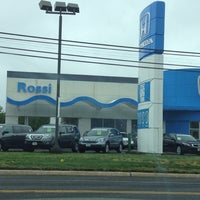 Photo taken at Rossi Honda by Bart L. on 5/2/2012