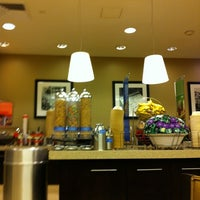 Photo taken at Hampton Inn Manhattan Times Square North by Daniel G. on 11/23/2011
