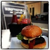 Photo taken at Burger Republic by Mina L. on 8/23/2012