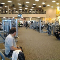 Photo taken at LA Fitness by David S. on 4/6/2012